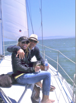 sailing to Angel Island